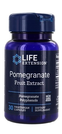 Life Extension - Pomegranate Extract - 30 Vegetarian Capsules