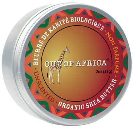 DROPPED: Out Of Africa - Organic Shea Butter Tin 100% Pure & Unrefined Unscented - 2 oz. CLEARANCE PRICED