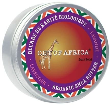 DROPPED: Out Of Africa - Organic Shea Butter Tin 100% Pure & Unrefined Lavender - 2 oz. CLEARANCE PRICED
