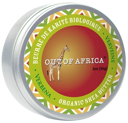DROPPED: Out Of Africa - Organic Shea Butter Tin 100& Pure & Unrefined Verbena - 2 oz. CLEARANCE PRICED