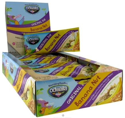 DROPPED: Odwalla - Original Nourishing Food Bar Banana Nut - 2 oz. CLEARANCE PRICED
