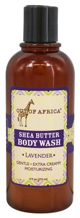 DROPPED: Out Of Africa - Shea Butter Body Wash Lavender - 9 oz.