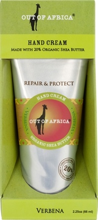 DROPPED: Out Of Africa - Shea butter Hand Cream Lemon Verbena - 2.5 oz.