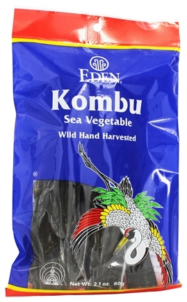 DROPPED: Eden Foods - Kombu Sea Vegetable - 2.1 oz.