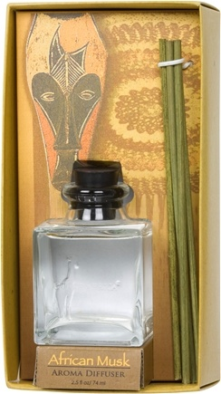 DROPPED: Out Of Africa - Glass Aroma Diffuser African Musk - CLEARANCE PRICED