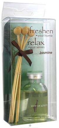 DROPPED: Out Of Africa - Glass Mini Fragrance Diffuser Jasmine - CLEARANCE PRICED