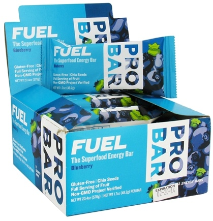 DROPPED: Pro Bar - Fuel Bar Blueberry - 1.7 oz. CLEARANCE PRICED
