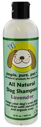 DROPPED: Seaside Naturals - All Natural Dog Shampoo Lavender - 12 oz.