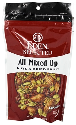 DROPPED: Eden Foods - Selected All Mixed Up Nuts & Dried Fruit - 4 oz.