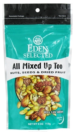 DROPPED: Eden Foods - Selected All Mixed Up Too Nuts, Seeds & Dried Fruit - 4 oz.