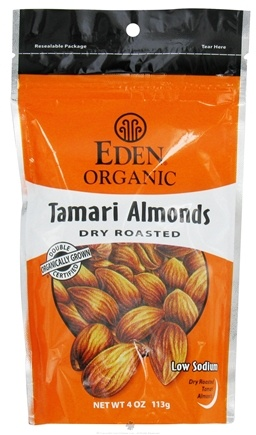DROPPED: Eden Foods - Organic Tamari Almonds Dry Roasted - 4 oz.