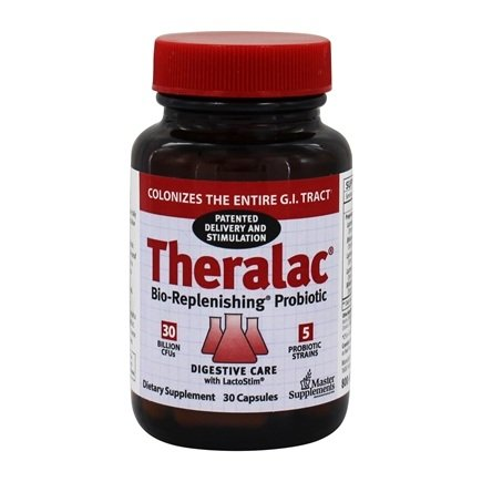 Zoom View - Theralac Probiotic Master Supplement