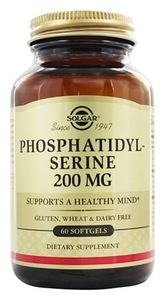 Solgar - Phosphatidylserine 200 mg. - 60 Softgels