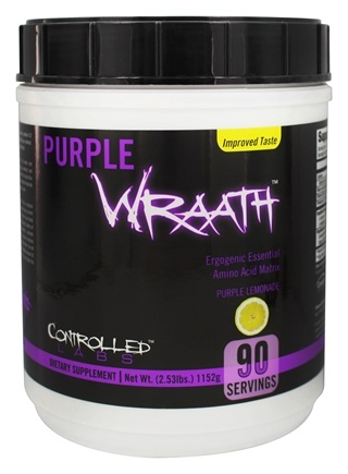 Controlled Labs - Purple Wraath Ergogenic Essential Amino Acid Matrix Purple Lemonade - 2.53 lbs.