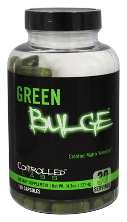 Controlled Labs - Green Bulge Creatine Matrix Volumizer - 150 Capsules