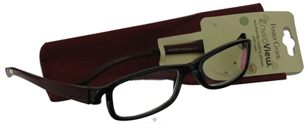 Zoom View - Enviroview Eco-Friendly Reading Glasses  2.00 Strength with Case Sunshine