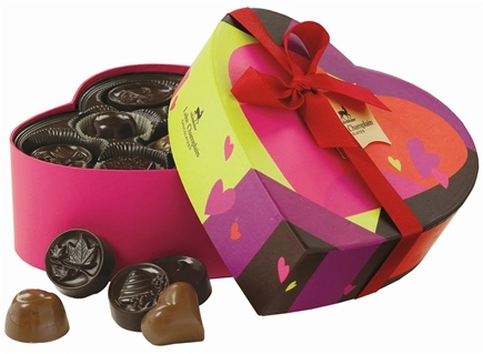 DROPPED: Lake Champlain Chocolates - UNPUBLISHED All Natural Valentine Sweetheart's Chocolate Assortment - 9 oz.