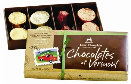 DROPPED: Lake Champlain Chocolates - All Natural 8 Piece Chocolate Assortment - 3.8 oz. CLEARANCE PRICED
