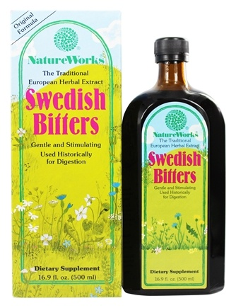 NatureWorks - Swedish Bitters Extract Original Formula - 16.9 oz.