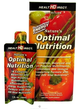 Zoom View - Nature's Optimal Nutrition Liquid Multi Vitamin