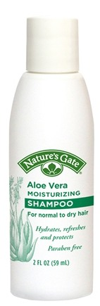 DROPPED: Nature's Gate - Shampoo Aloe Vera Moisturizing Trial Size - 2 oz. CLEARANCE PRICED