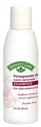 DROPPED: Nature's Gate - Shampoo Pomegranate Sunflower Hair Defense Trial Size - 2 oz.