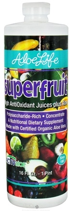 DROPPED: Aloe Life - Aloe Vera Superfruit Juice - 16 oz. CLEARANCE PRICED