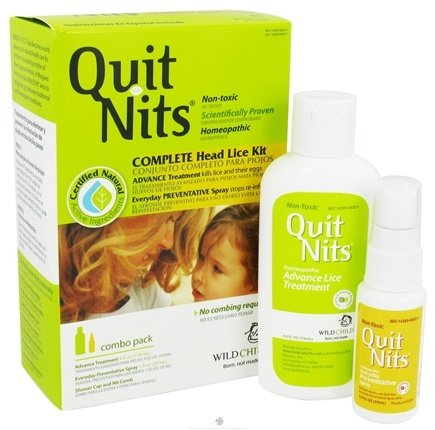 Zoom View - Wild Child Quit Nits Complete Head Lice Kit