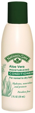 DROPPED: Nature's Gate - Conditioner Aloe Vera Moisturizing Trial Size - 2 oz. CLEARANCE PRICED