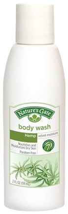 Zoom View - Body Wash Velvet Moisture Hemp Trial Size