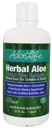 Zoom View - Herbal Aloe Detox Plus Formula