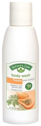 Zoom View - Body Wash Velvet Moisture Papaya Trial Size
