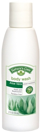 Zoom View - Body Wash Velvet Moisture Aloe Vera Trial Size