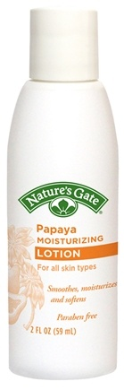 DROPPED: Nature's Gate - Moisturizing Lotion Papaya Trial Size - 2 oz. CLEARANCE PRICED