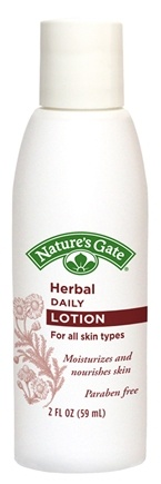 DROPPED: Nature's Gate - Daily Lotion Herbal Trial Size - 2 oz. CLEARANCE PRICED