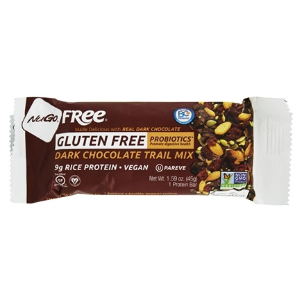 NuGo Nutrition - Gluten-Free Bar Dark Chocolate Trail Mix - 1.59 oz.