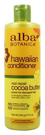 Alba Botanica - Alba Hawaiian Hair Conditioner Dry-Repair Cocoa Butter - 12 oz.