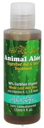 DROPPED: Aloe Life - Animal Aloe Digestive Aid & Skin Treatment - 4 oz. CLEARANCE PRICED