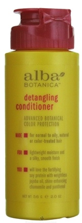 DROPPED: Alba Botanica - Detangling Conditioner Travel Size - 2 oz. CLEARANCE PRICED