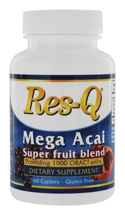 DROPPED: Res-Q - Mega Acai Super Fruit Blend - 60 Caplets