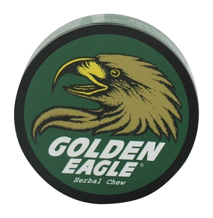 Golden Eagle - Herbal Non-Tobacco Chew Wintergreen - 1.2 oz.