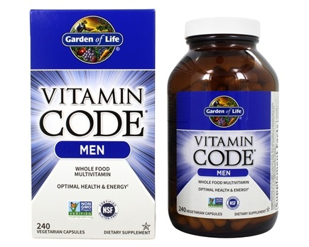 Buy Garden of Life Vitamin Code RAW Mens Multi Formula 240