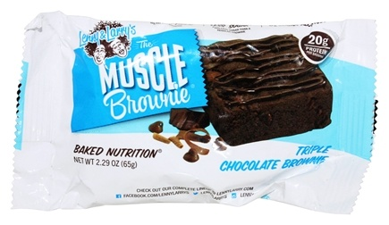 Lenny & Larry's - Muscle Brownie Triple Chocolate - 2.29 oz.