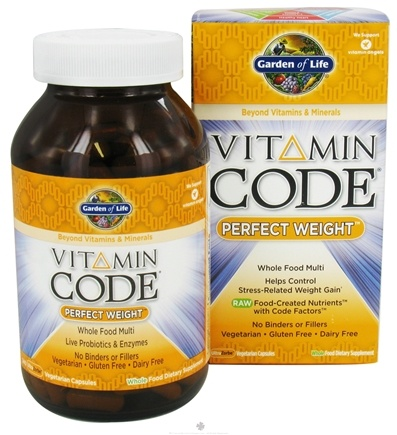 Buy Garden of Life Vitamin Code Perfect Weight Formula 240