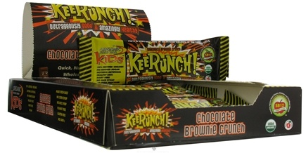 DROPPED: Organic Food Bar - Kids KeeRunch! Chocolate Brownie Crunch - 1.34 oz.