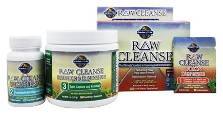 Buy Garden Of Life Raw Cleanse 3 Step Kit At