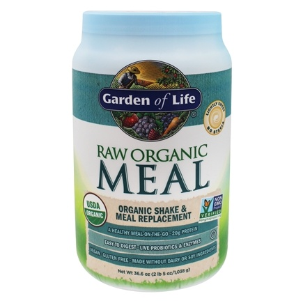 Buy Garden Of Life Raw Meal Organic Shake Meal Replacement Original 32 Oz At
