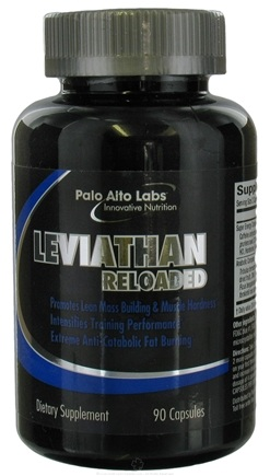 DROPPED: Palo Alto Labs - Leviathan Reloaded Lean Muscle Builder & Fat Burner - 90 Capsules CLEARANCE PRICED