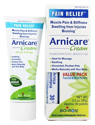 Zoom View - Arnicare Arnica Cream Value Pack + 1 - 30 C Arnica Montana Blue Tube!