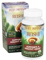 Image of Fungi Perfecti - Host Defense Reishi General Wellness Support - 60 Vegetarian Capsules